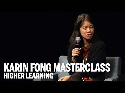 KARIN FONG | Film Title Design Masterclass | Higher Learning