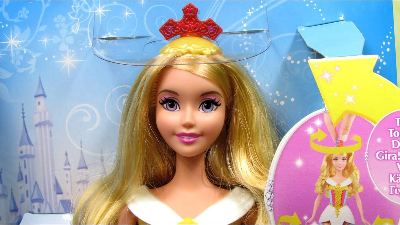 Sleeping Beauty Color Changing Dress Doll Disney Princess Mattel