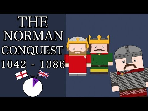 Ten Minute English and British History 08  1066 and the Norman Conquest