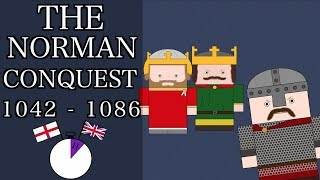 Ten Minute English and British History #08 - The Norman Conquest (Short Documentary)