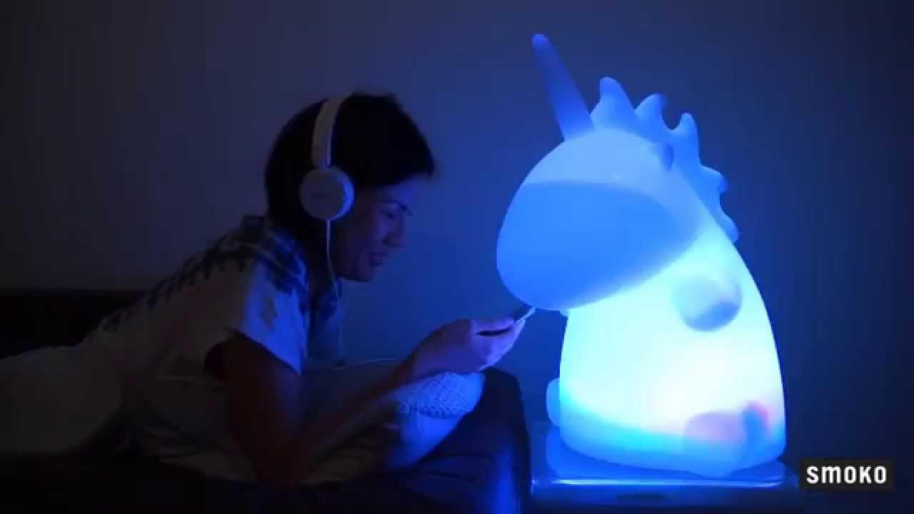 SMOKO GIANT UNICORN LAMP   YouTube