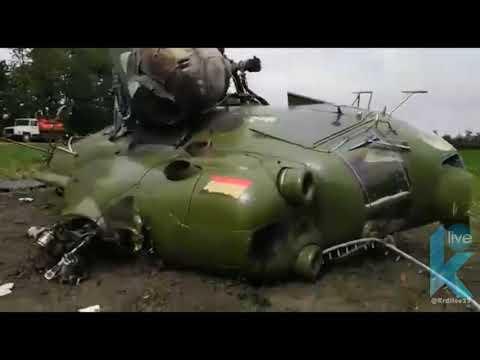 Вертолет Ми-2 разбился в Адыгее неподалеку от Краснодара.