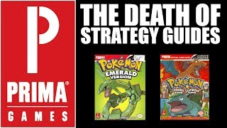 The Strategy Guide Publisher, Prima Games Is Shutting It's Doors.