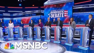 Democratic Rivals United Against Trump At Democratic Debate - Day That Was | MSNBC