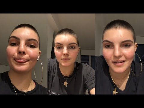 Camren Bicondova  Instagram Live Stream  28 September 2018