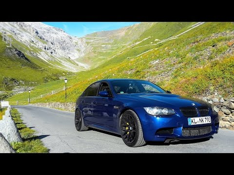 Stelvio Pass in a Supercharged E90 BMW M3!!