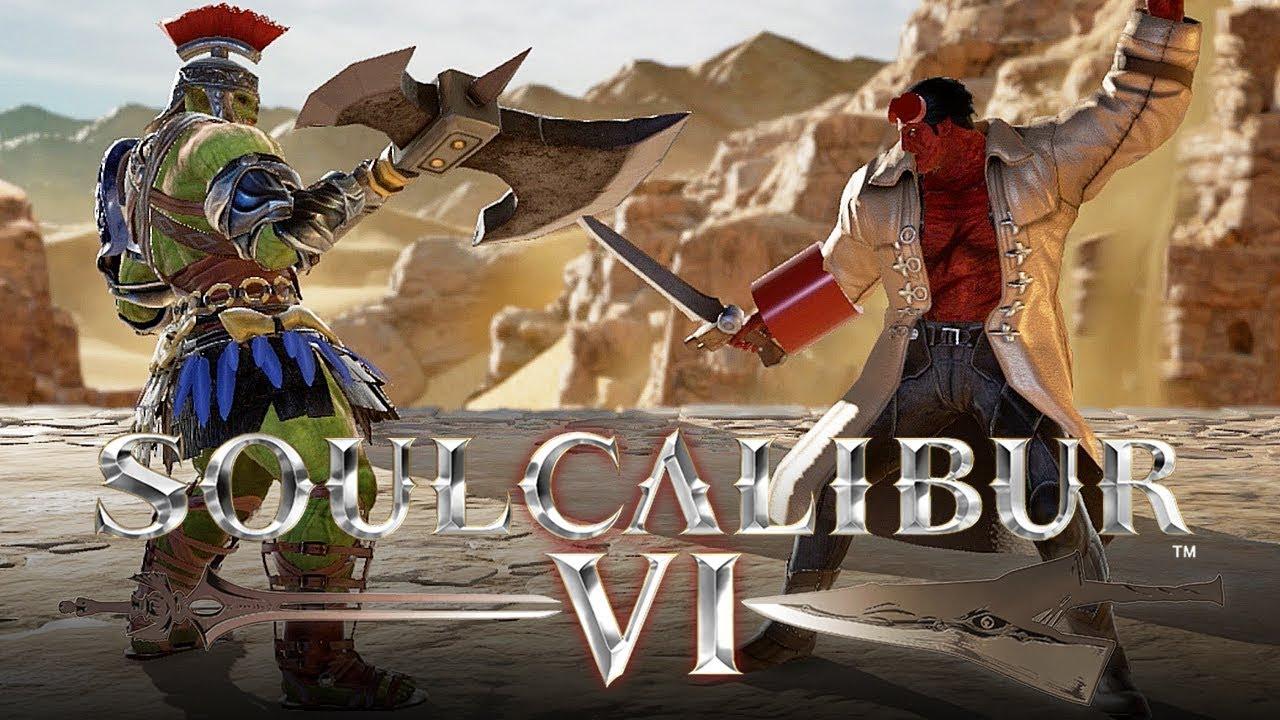 Custom Calibur Soul 6 Characters