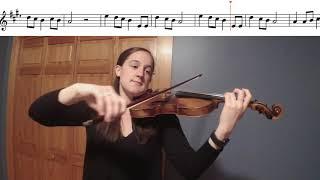 Long Long Ago Violin Duet Play-a-Long