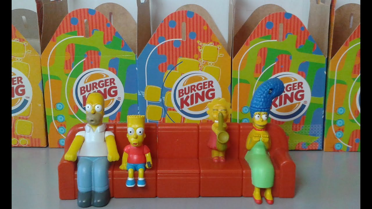 how to set burger king simpsons watch