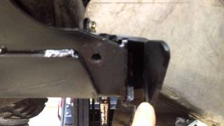 WARN front plow mount modification