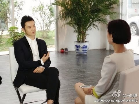 Exclusive in-depth interview with Huang Xiaoming 黄晓明 on Hunan TV 8th June 2013
