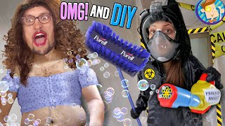 The SANITIZING CHAMBER & DIY Supplies (FV Family Tik Tok Makeover REVEAL Vlog)