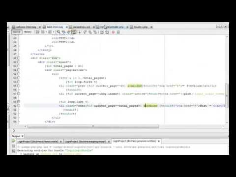 Doctrine And Twig Tutorial Video 2 Symfony2 Pagination with Twitter  Bootstrap