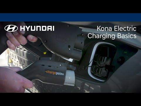 EV Charging Basics | Kona Electric | Hyundai