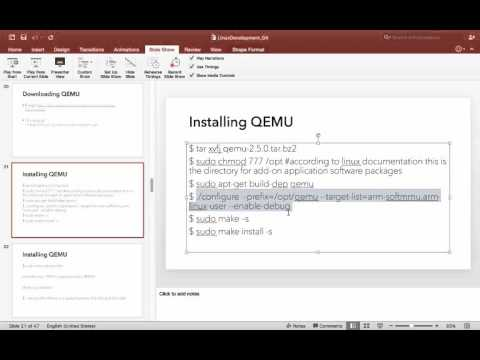 Linux QEMU - Download, Install and Run - YouTube