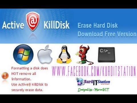 how to use killdisk free