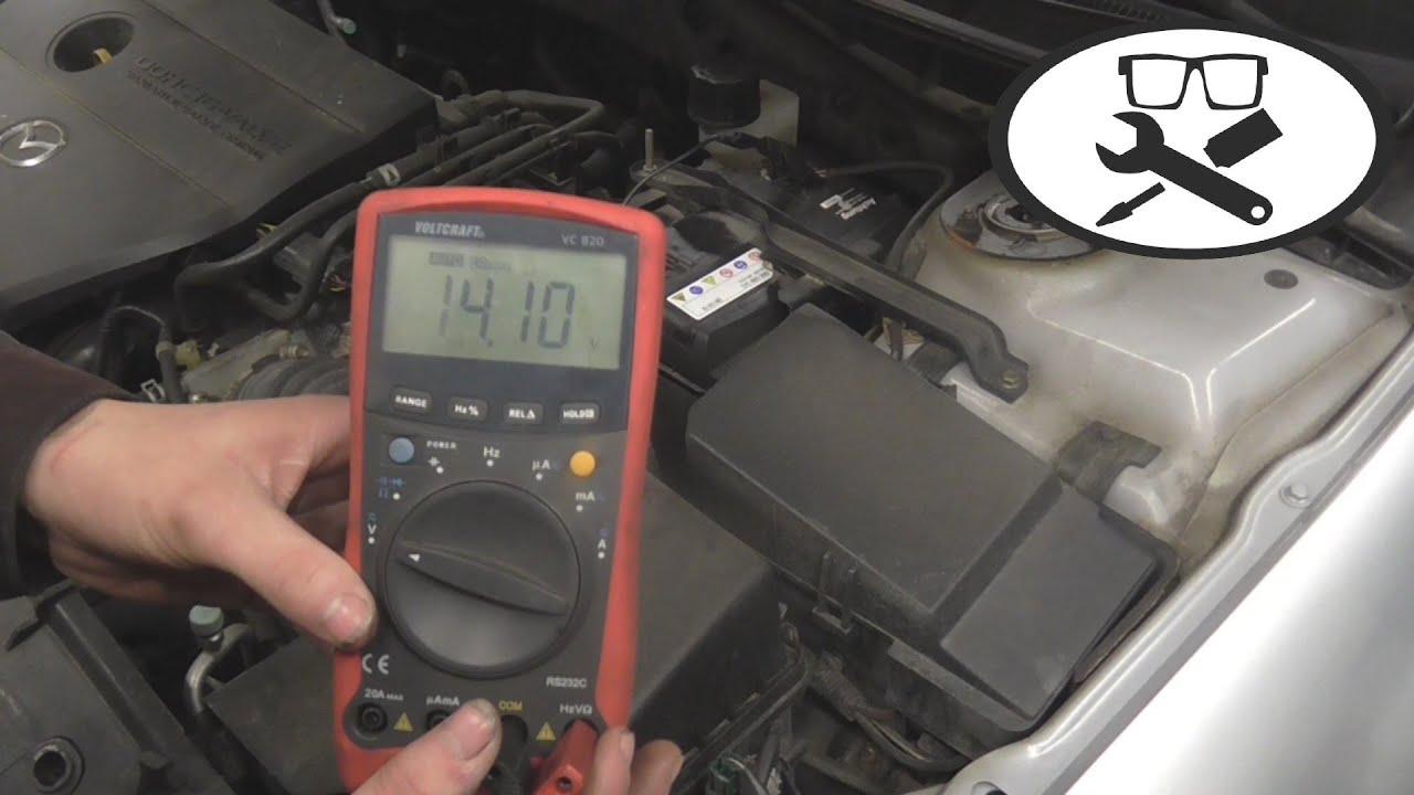 Batterie Ladespannung Messen Charging Voltage Vitjawolf