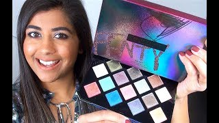 Fenty Beauty GALAXY HOLIDAY 2017 Collection: Review & Swatches!