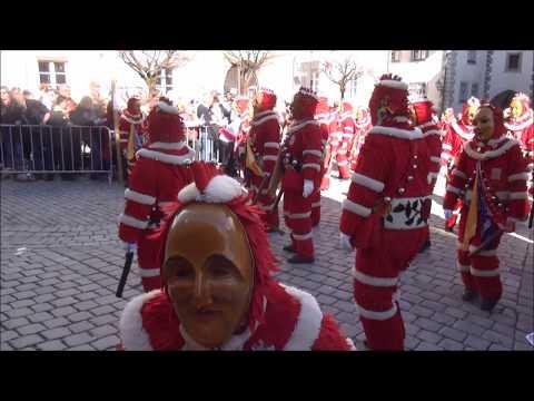 Carnival parade in Wangen im Allgäu, Germany
