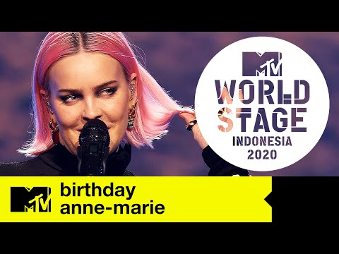Anne-Marie - 'Birthday' | MTV World Stage Indonesia | Live Performance indir