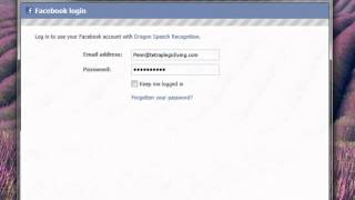 How to post to Facebook & Twitter using Dragon NaturallySpeaking