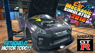 PREPAREI UM SUPER MOTOR PRO NISSAN GTR!! - CAR MECHANIC SIMULATOR 2018