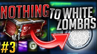 TRADING FROM NOTHING TO WHITE ZOMBAS! EP.3 (Rocket League Trading)