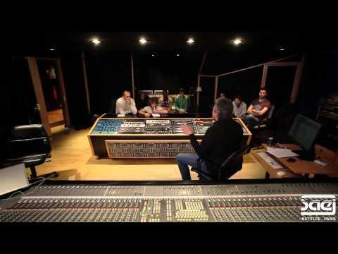SAE Paris - Workshop mixage avec Yan Memmi - Studio Davout