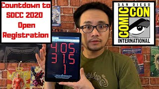 SDCC 2020 | Countdown to San Diego Comic-Con 2020 Open Registration