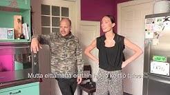 Niina Backman esittelee keittiönsä ennen remonttia