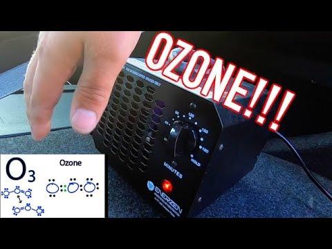 Odor / Smoke / Mold Removal with Ozone Generator - Car Truck SUV Van