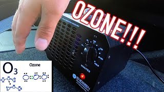 Odor / Smoke / Mold Removal with Ozone Generator - Car Truck SUV Van