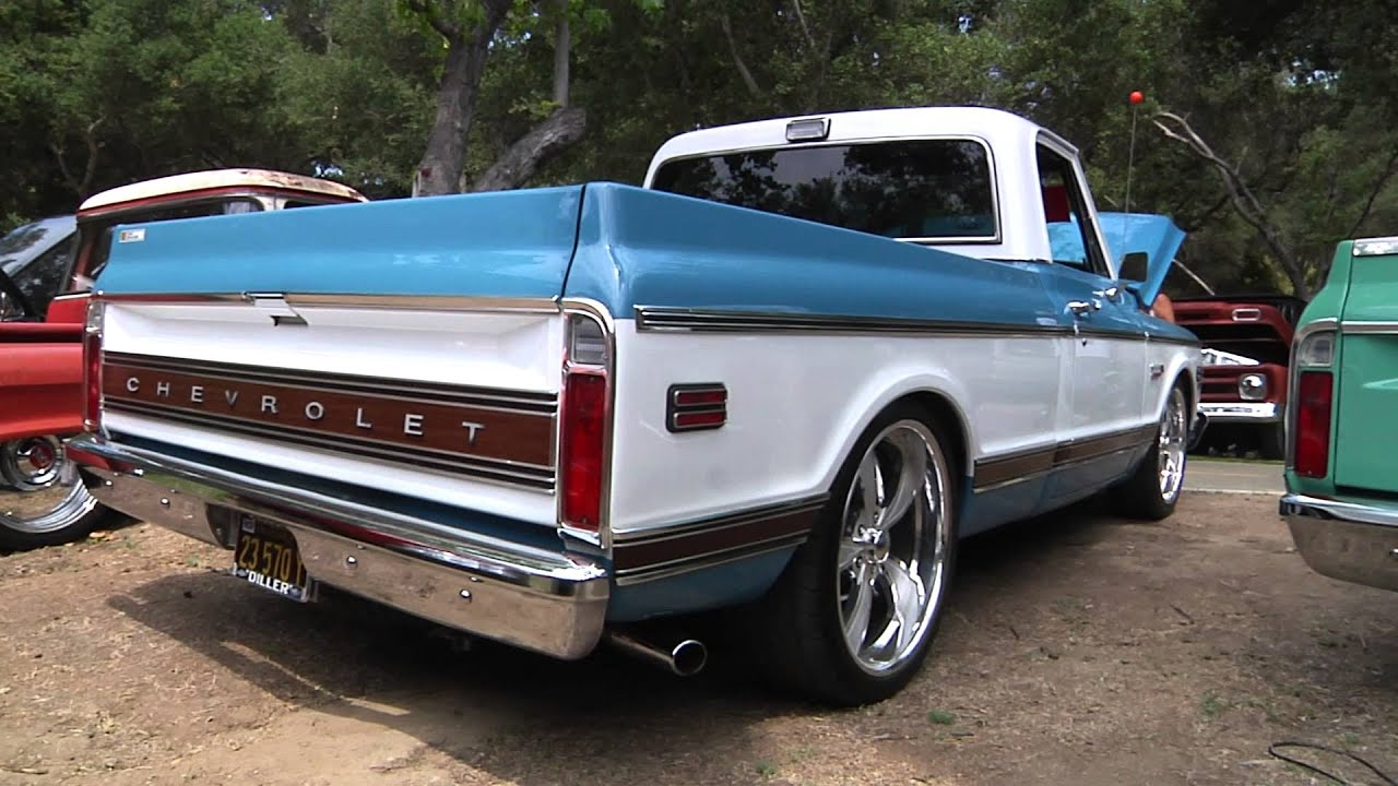 1972 Chevrolet Cheyenne Super Pickup Truck - Interview ...