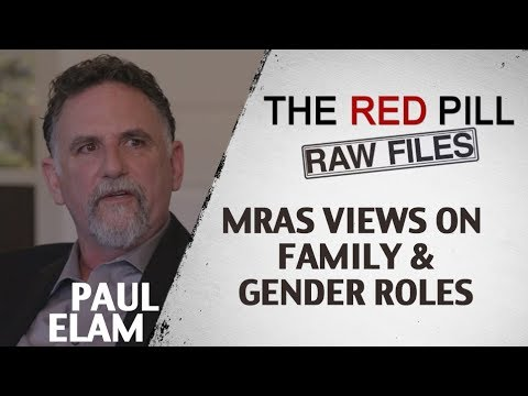 MRAs Views On Family and Gender Roles | Paul Elam #RPRF