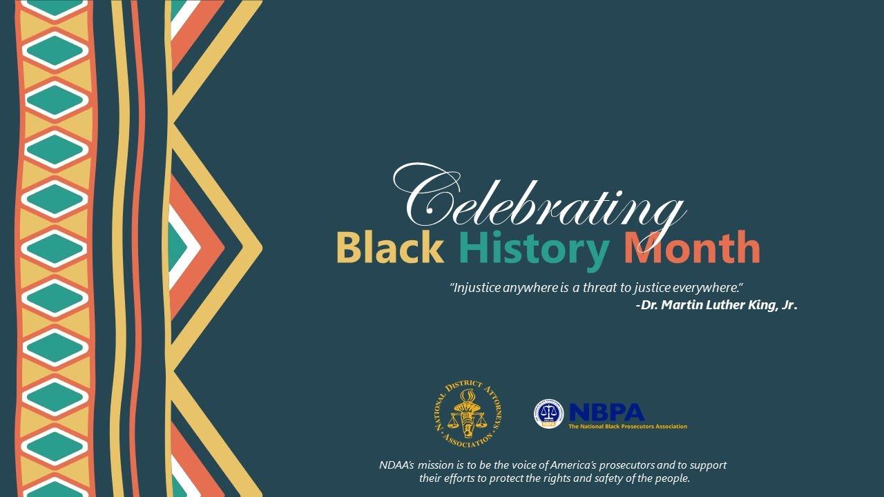 Download Celebrating Black History Month - NDAA & NBPA
