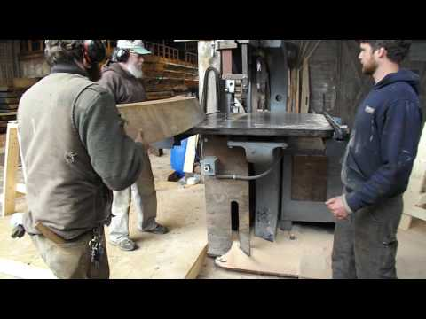 Ernestina-Morrissey : David Short cutting tenon in futtock