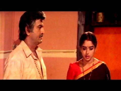 Pedarayudu Movie || Mohanbabu Go to Give Judgment on His Brother Sentiment Scene