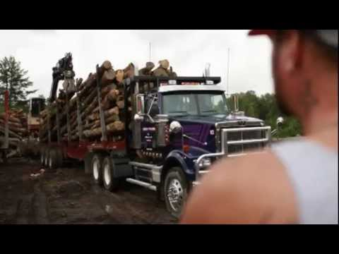 American Loggers Choose Western Star Trucks At Mats 2011