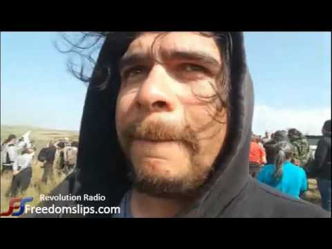 First Nation Native American protest live - Dakota Access Pipeline - Part 3