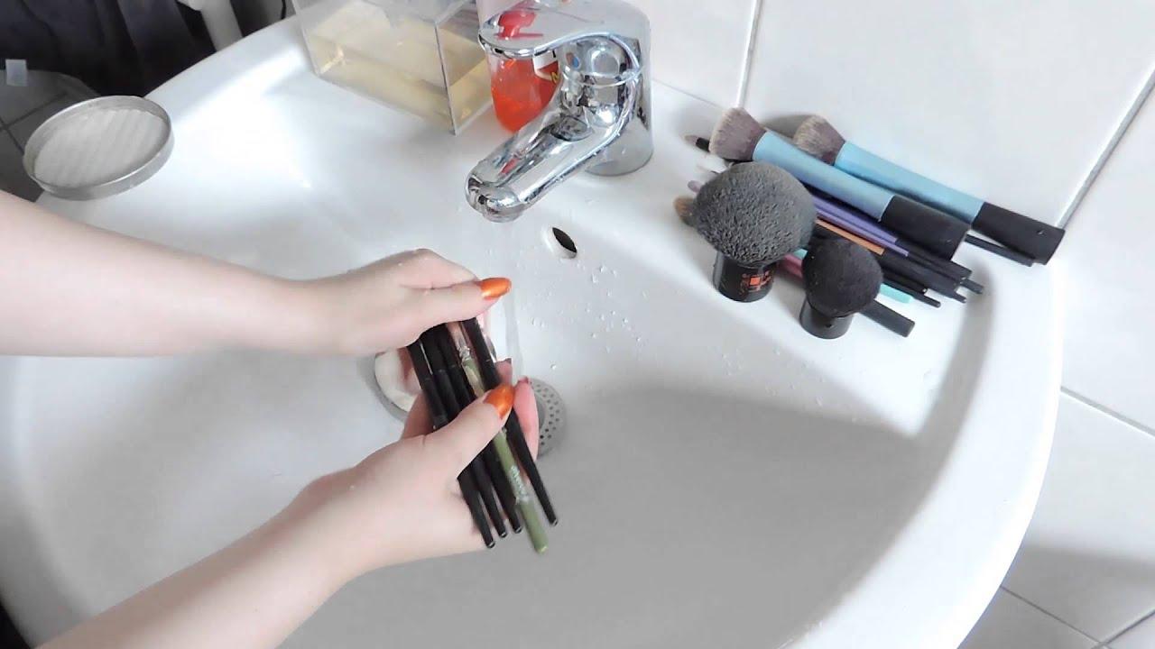 pinsel waschen mit kernseife meine pinselreinigung youtube. Black Bedroom Furniture Sets. Home Design Ideas