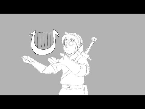 The Legend of Zelda x Jack and the Beanstalk storyboard pro fan project animation