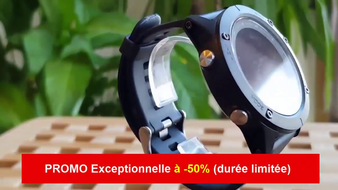 tac25 la montre tactique militaire connect e pas cher avec gps int gr youtube. Black Bedroom Furniture Sets. Home Design Ideas