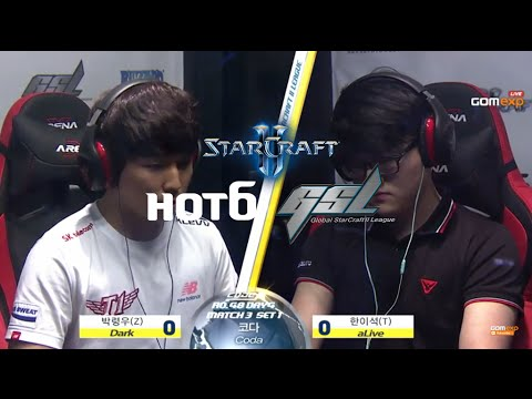Dark vs aLive ZvT Code A Day 4 Match 3 Part1, 2015 HOT6 GSL Season 3   StarCraft 2