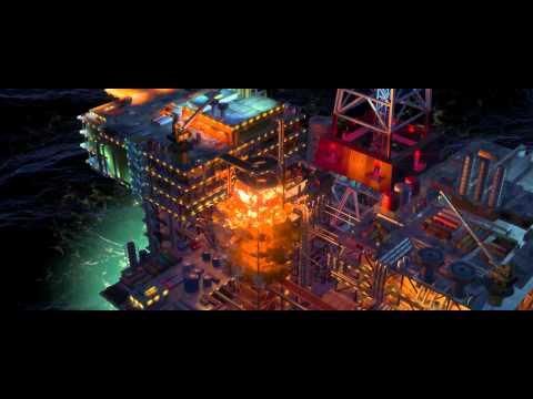 Cars 2:  Oil Rig Escape - Clip