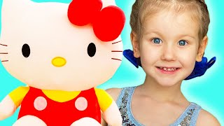 The Three Little Kittens Nursery Rhyme song for kids by Erika