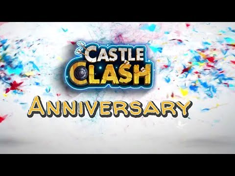 Castle Clash : Happy Anniversary! +Special Huge Giveaway Soon