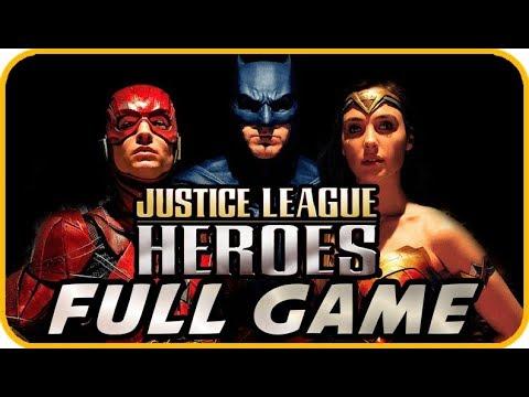 Justice League Heroes Walkthrough FULL GAME Longplay (PSP, PS2, XBOX)