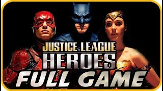 Justice League Heroes Walkthrough FULL GAME Longplay (PSP, PS2, XBOX)
