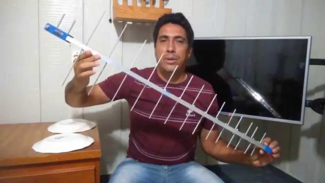 Qual melhor antena para sua tv youtube - Antenas de television ...