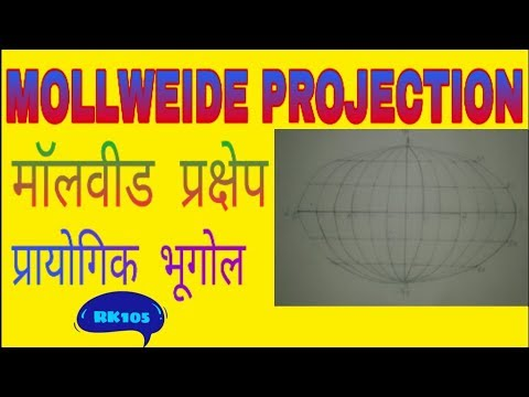 Mollweide projection in practical geography by RK105